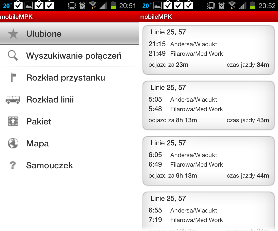 mobileMPK-Android