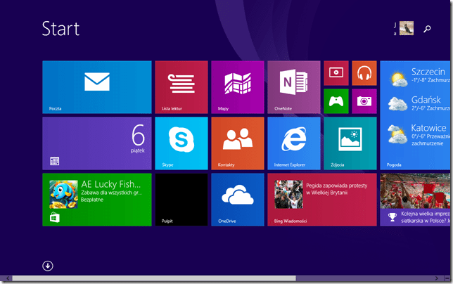 screen win8