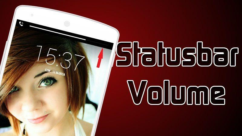 Xposed Statusbarvolume Mobileworld24
