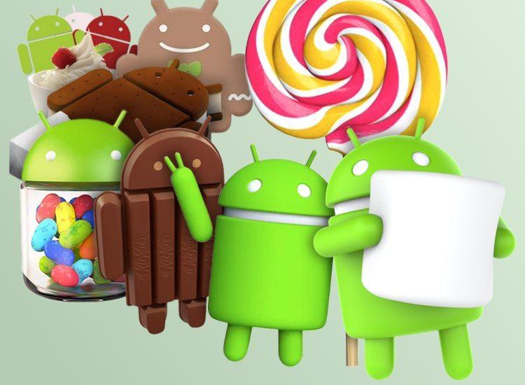 fragmentacja Androida - wersje systemu