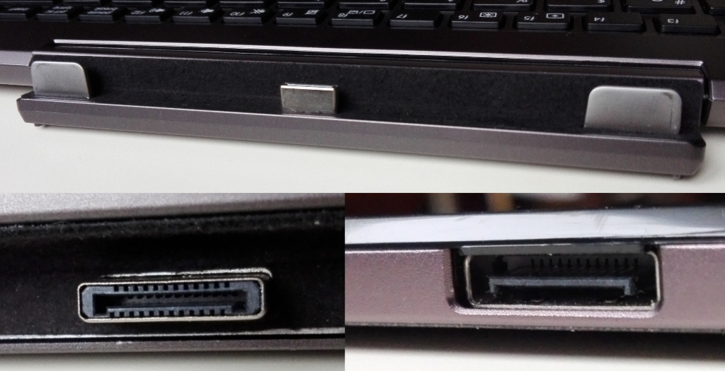 Asus Transformer Book T100HA - hinge