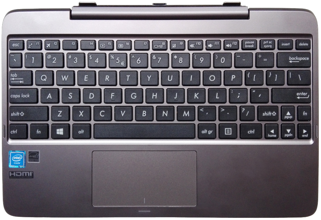 Asus Transformer Book T100HA - keyboard