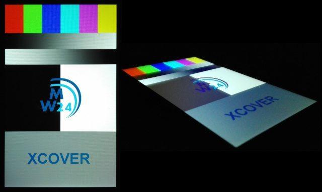Pancerne smartfony - ekran Xcover