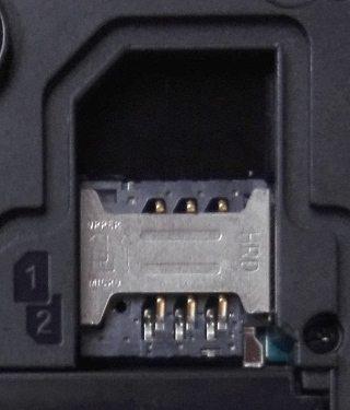 Quantum 2 500 - SIM slots