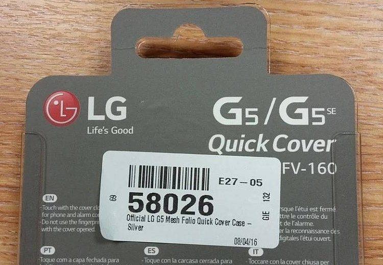 warianty LG G5