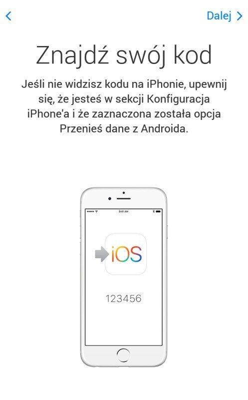 Najgorsze aplikacje - Move to iOS