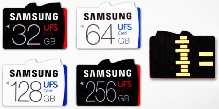 Samsung - karty UFS