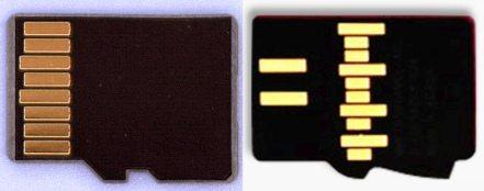 karty UFS i eMMC - pinout