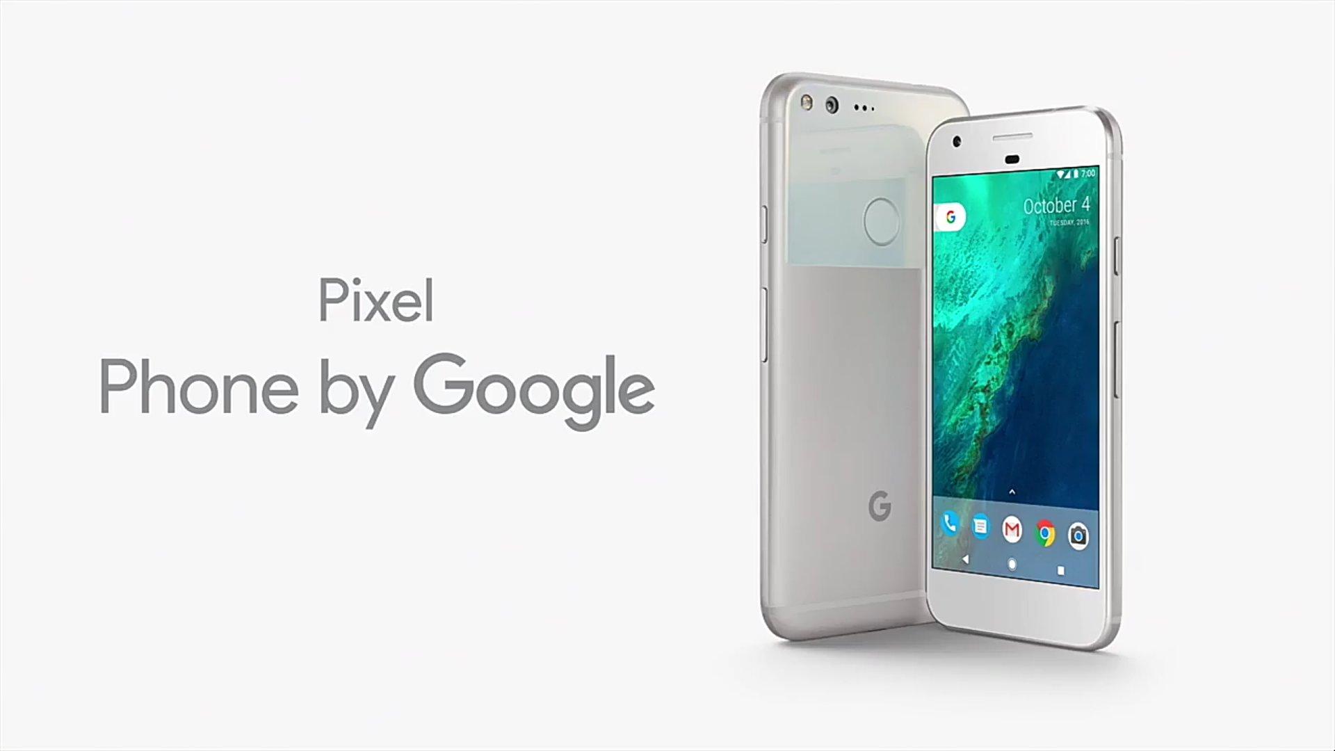 Google Pixel oficjalnie zaprezentowane