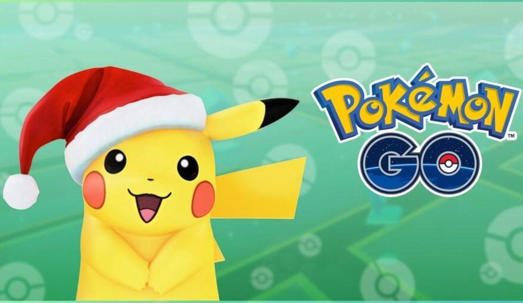 pokemon go świąteczny