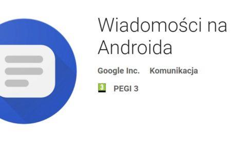 wiadomości na androida