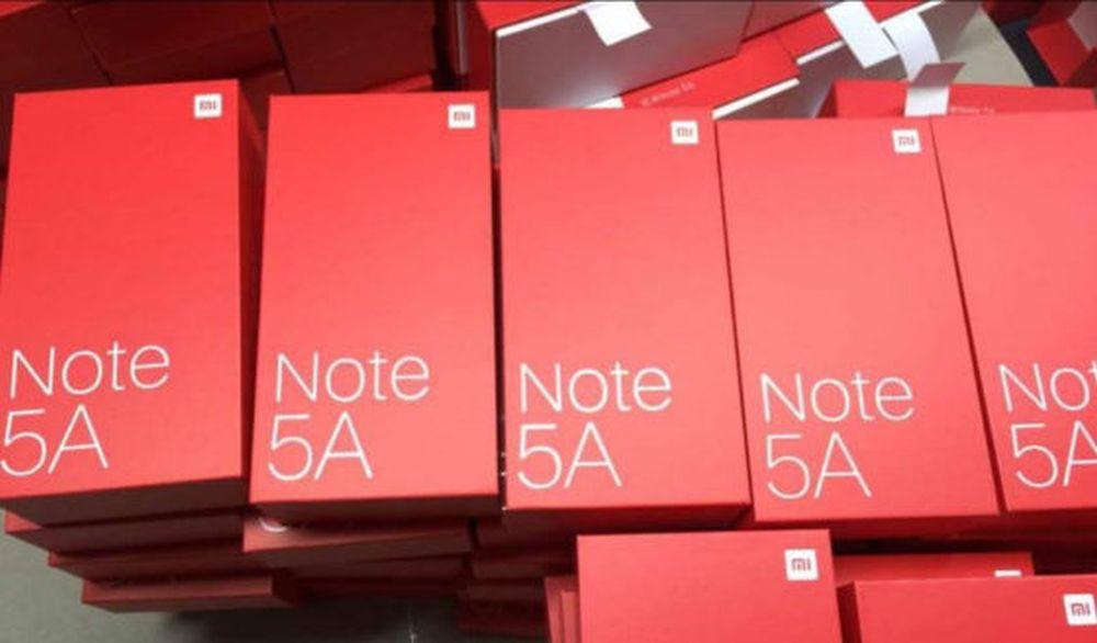 xiaomi redmi note 5A pudełka