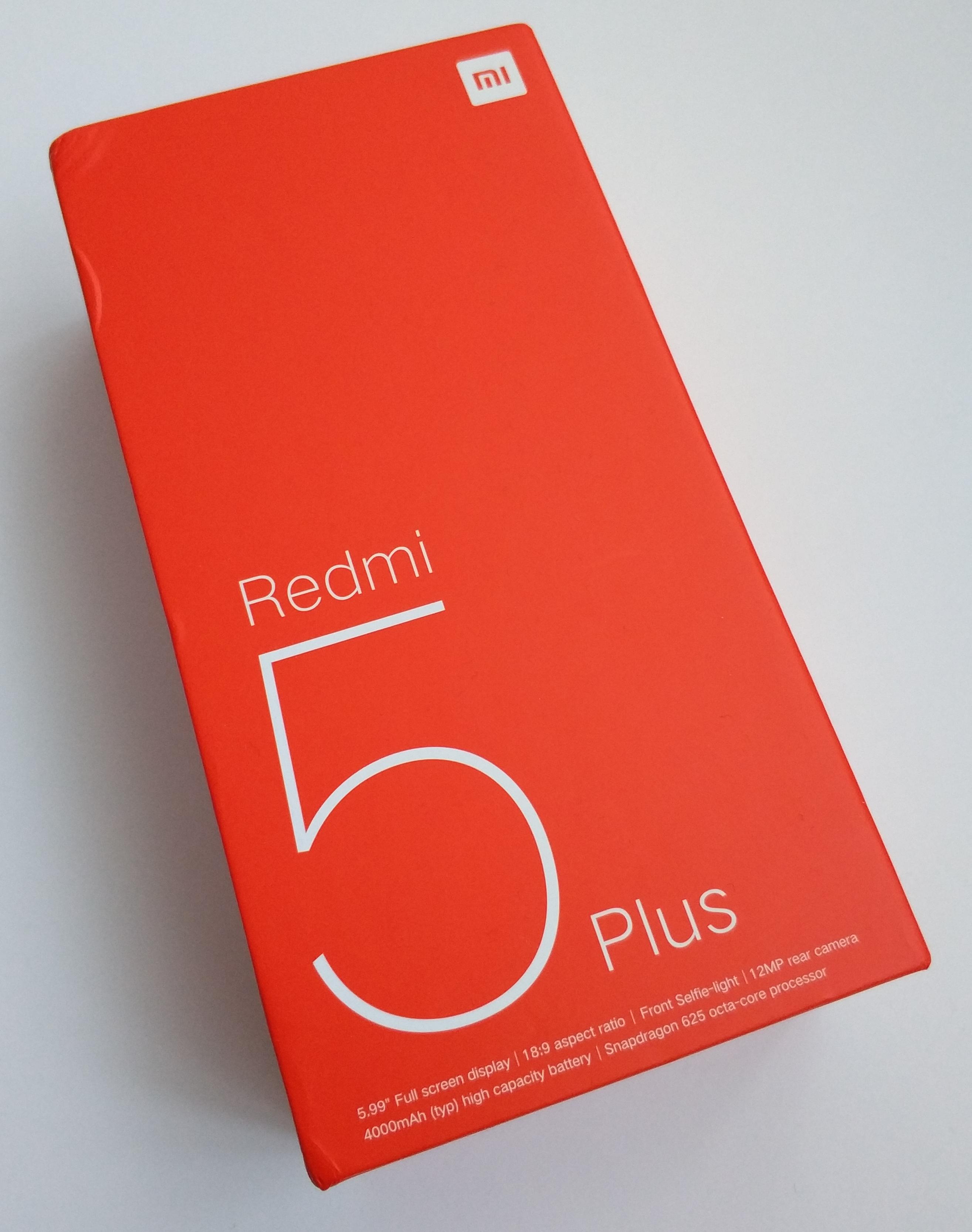 Specyfikacja Redmi 5 Plus to typowa średnia p³Å'ka Otrzymujemy Snapdragona 625 i w zależności od wersji 3 lub 4 GB pamięci operacyjnej RAM