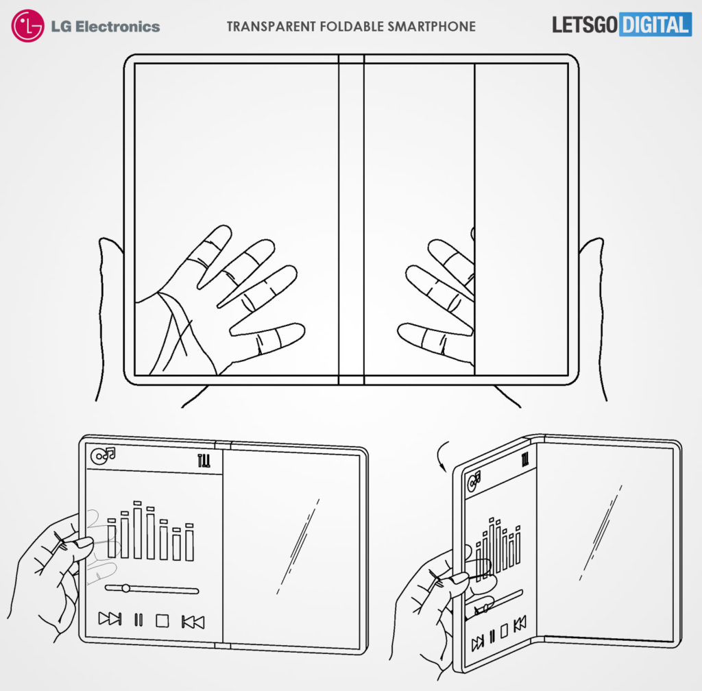 Transparent Foldable Smartphone