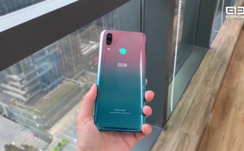 Teaser Elephone A9 MAX