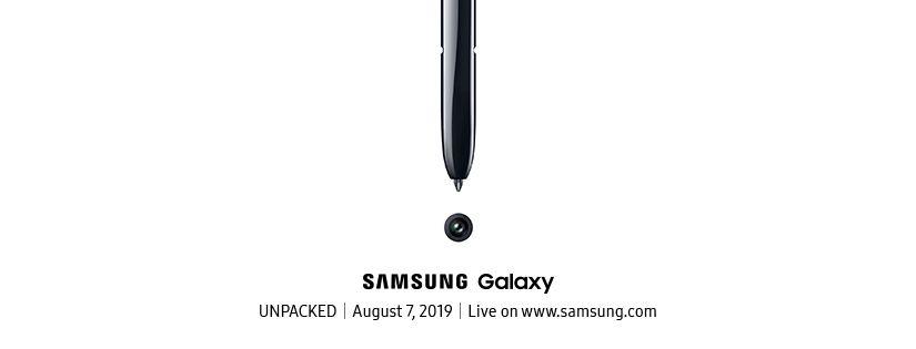 samsung galaxy note 10 event