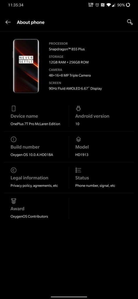 OnePlus 7T Pro McLaren Edition soft_1
