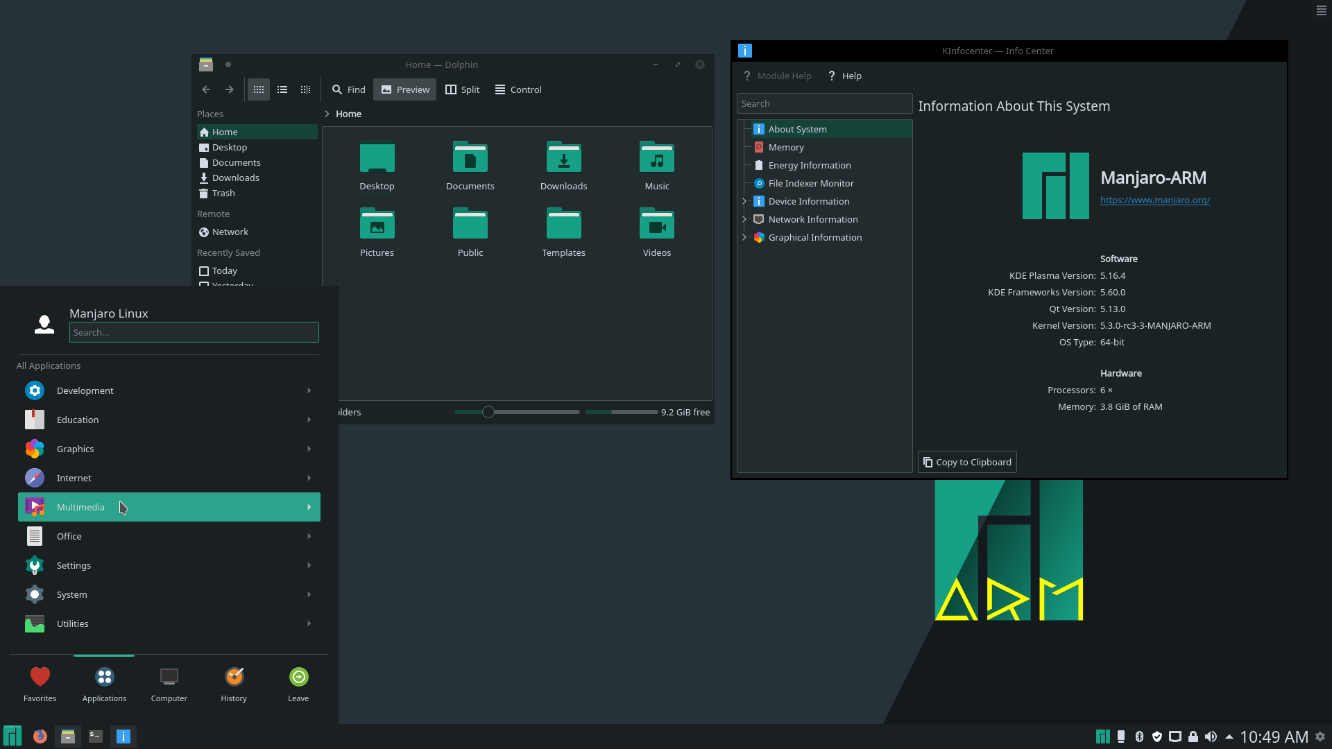 Manjaro Linux - KDE