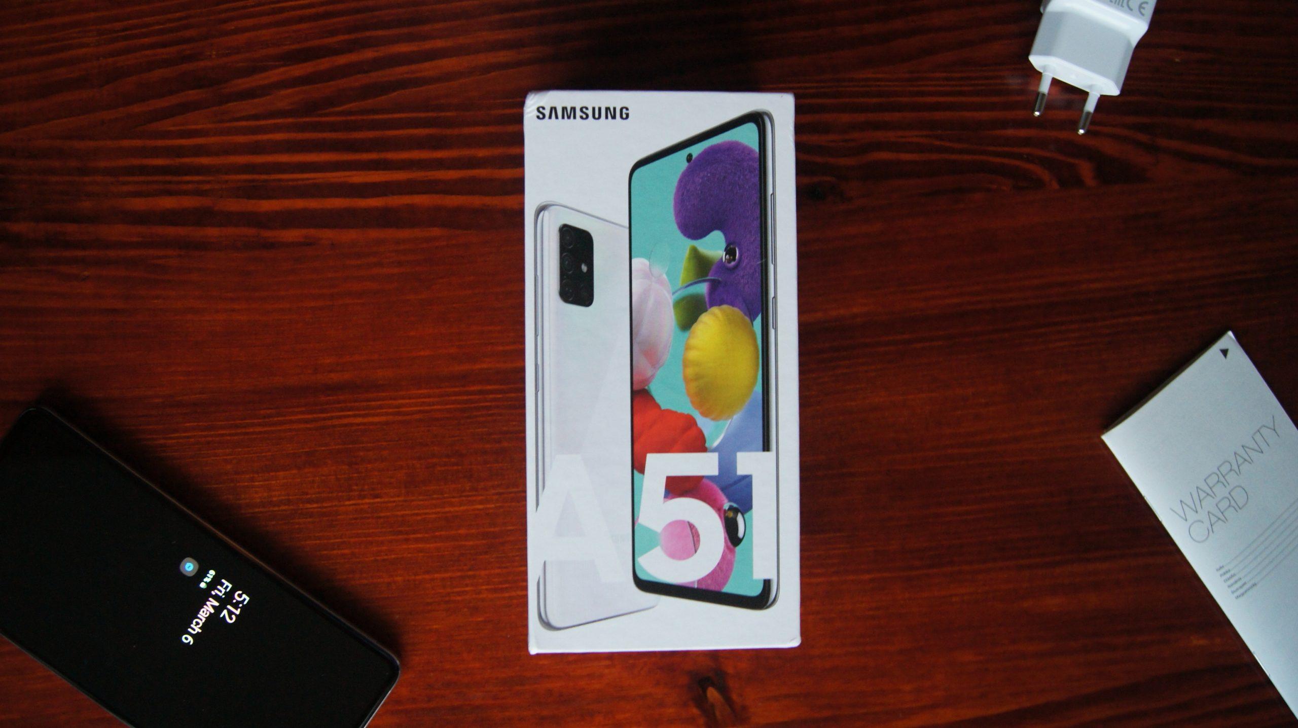 Galaxy A51 box1
