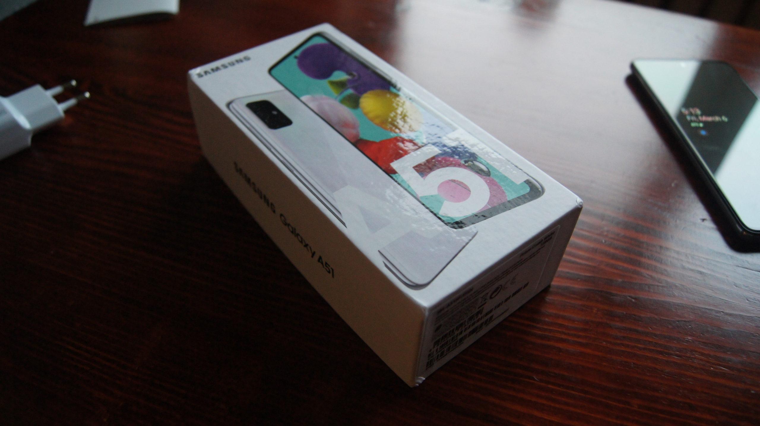 Galaxy A51 box3