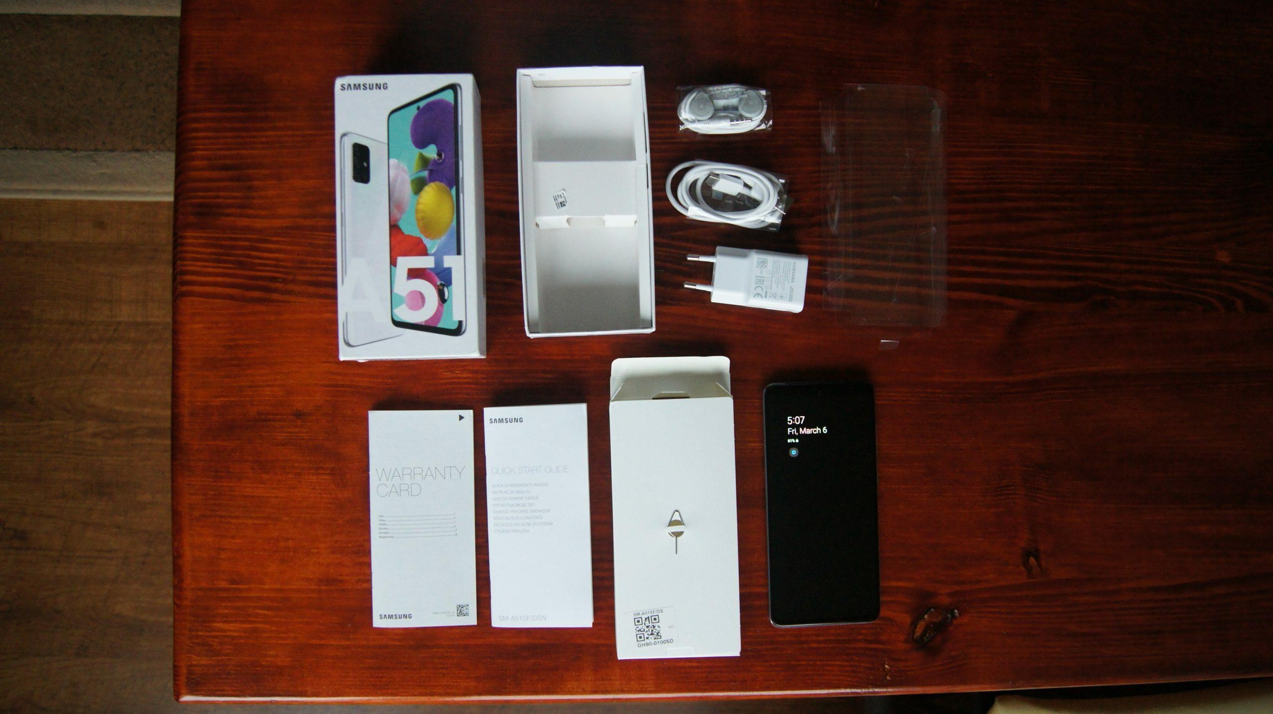 Galaxy A51 box4