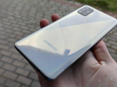 Galaxy A51 design0