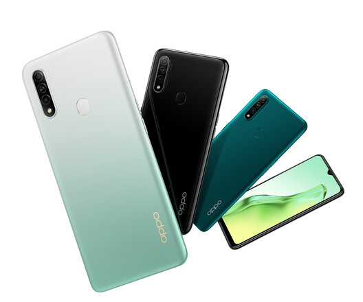 Oppo A31 2020 all colors
