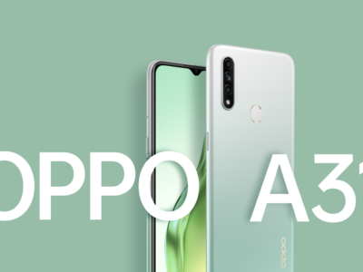 Oppo A31 2020 official banner