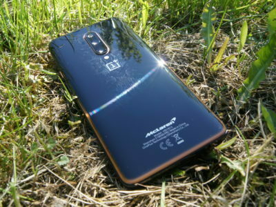 OnePlus 7T Pro McLaren Edition in grass