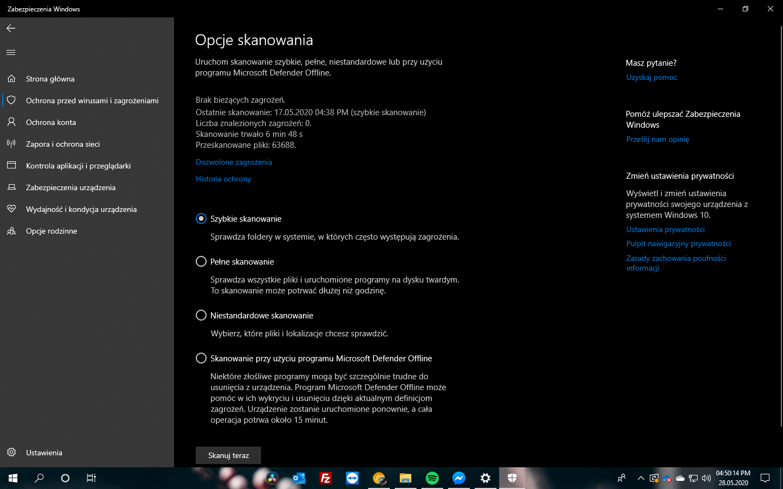 Windows 10 2004 Update #14 - Microsoft Defender