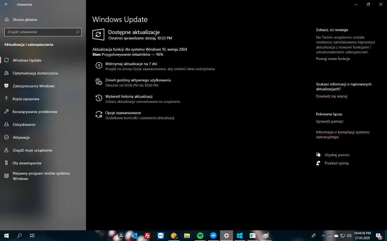 Windows 10 2004 Update #2 - Windows Update 1