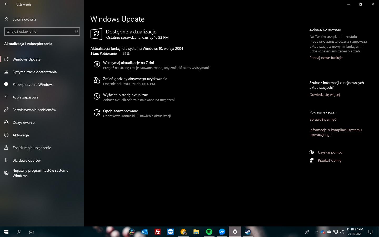 Windows 10 2004 Update #3 - Windows Update 2