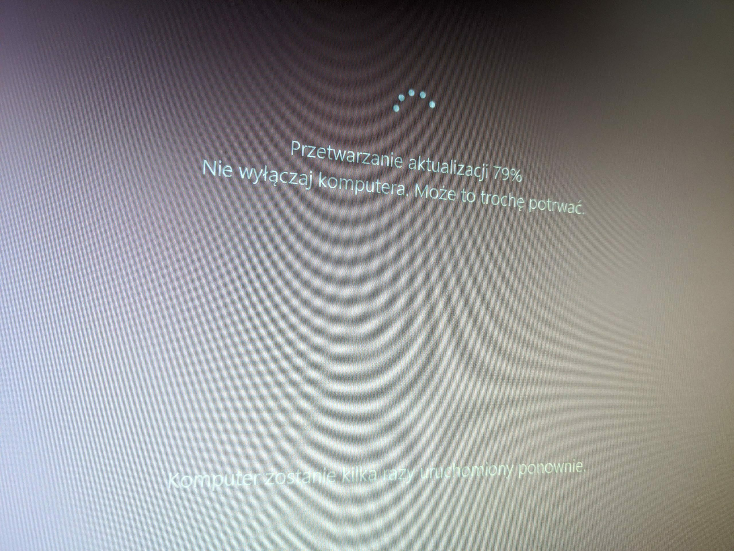 Windows 10 2004 Update #5 - Aktualizacja