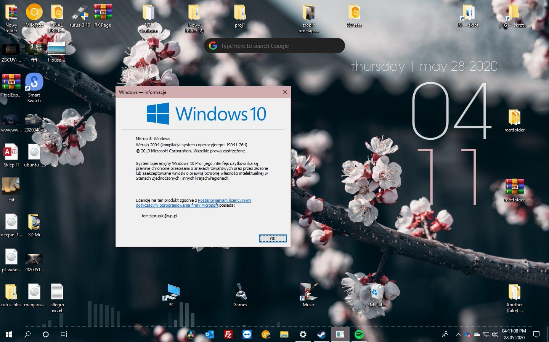 Windows 10 2004 Update #6 - Zaktualizowano