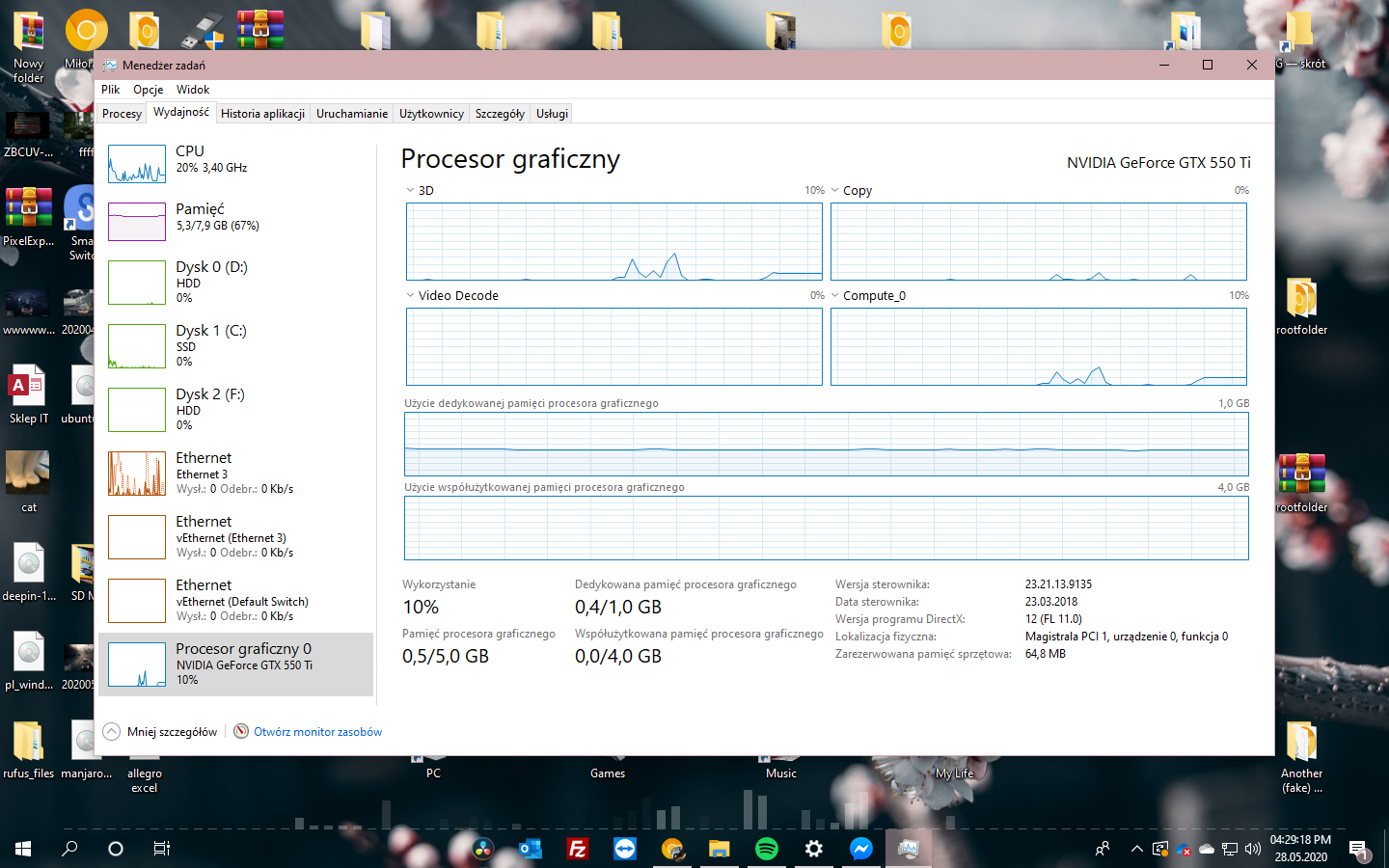 Windows 10 2004 Update #9 - Task Manager