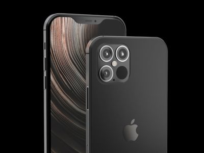 iPhone 12 fan-made render