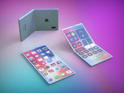 składany iphone
