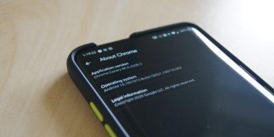 Google Chrome Canary 86 - About Chrome