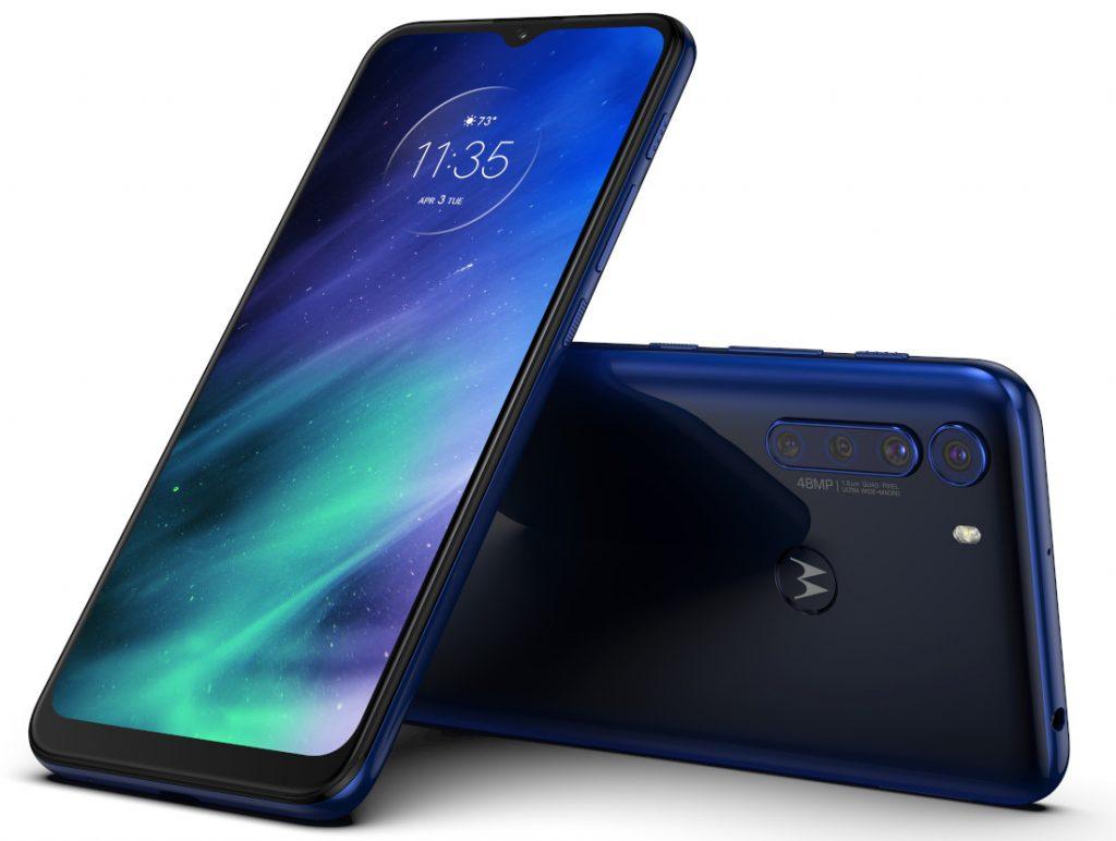 Motorola One Fusion - Deep Sapphire Blue