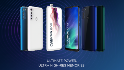 Motorola One Fusion & One Fusion + - official promo graphic