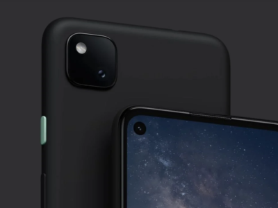 Google Pixel 4a official image