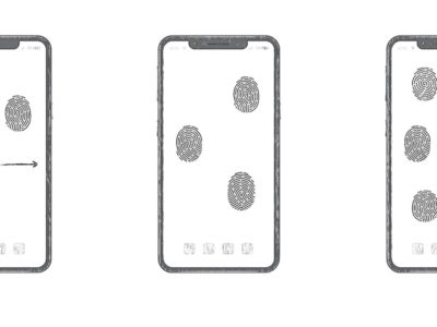 Huawei-all-screen-fingerprint-unlock-patent