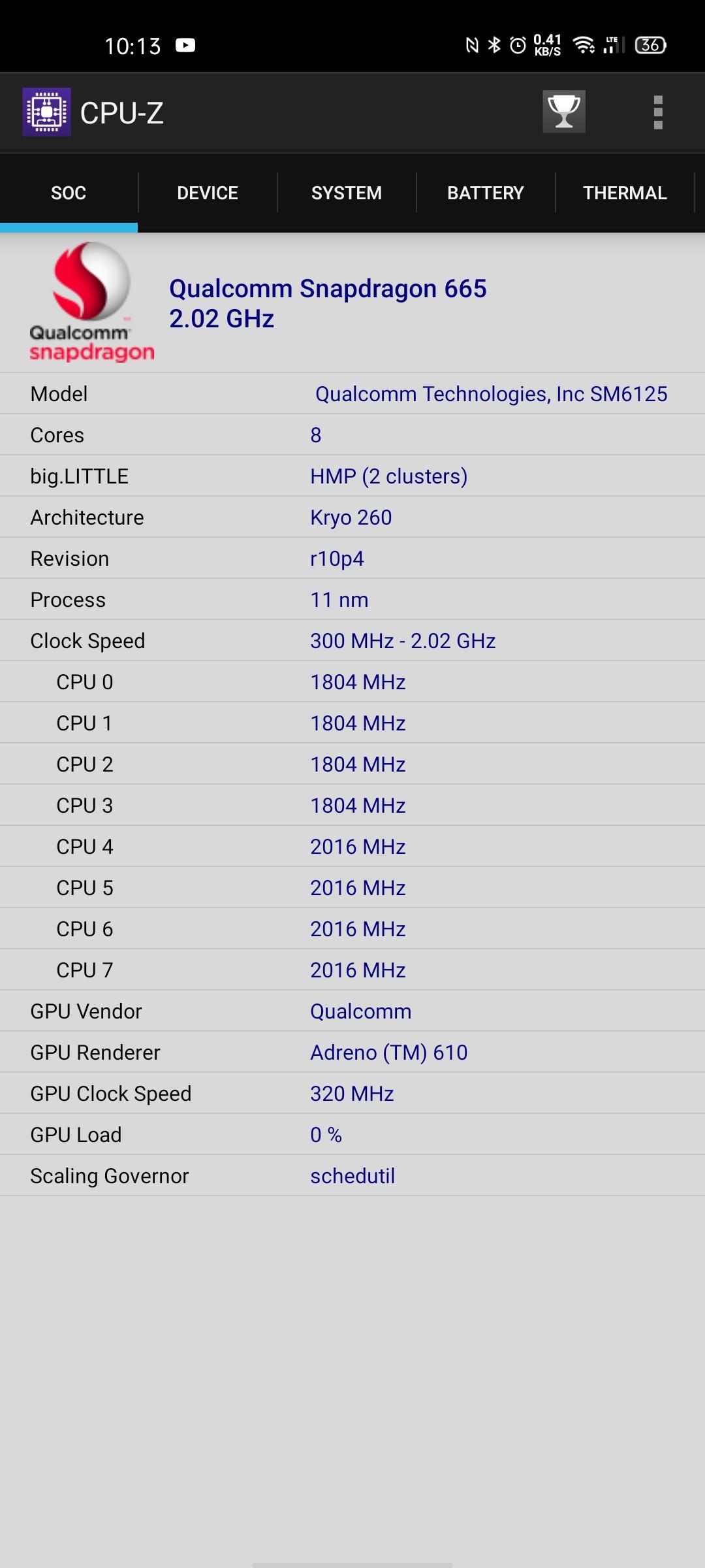 OPPO A72 benchmark3