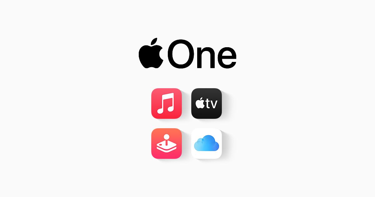 Apple One promo graphic