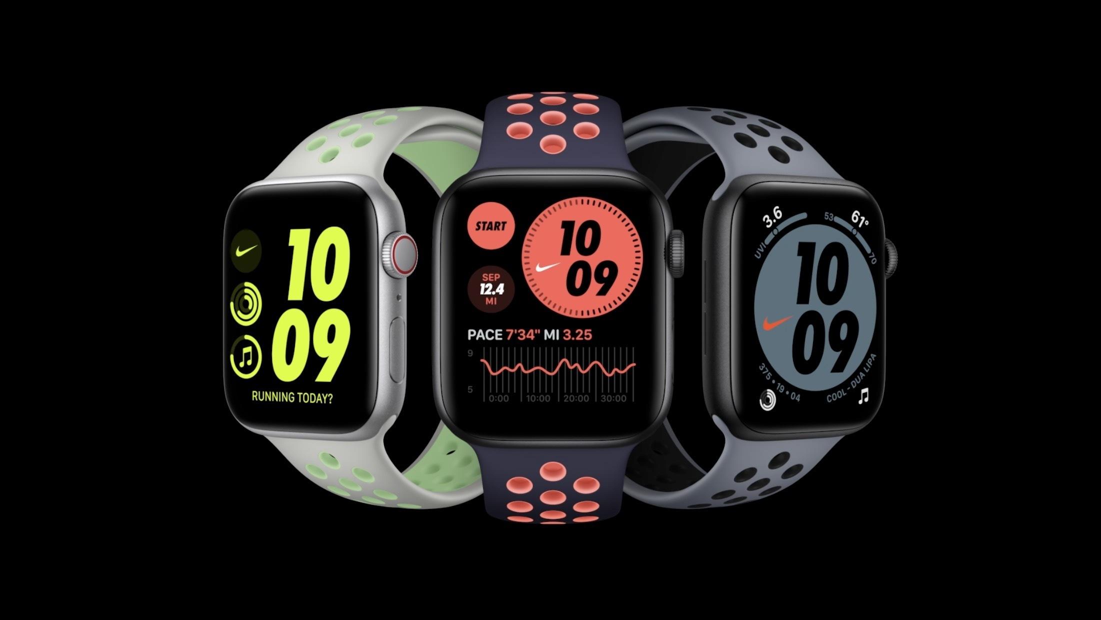 Apple Watch Series 6 promo graphic