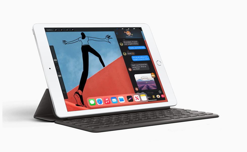 Apple iPad 8th Gen promo graphic