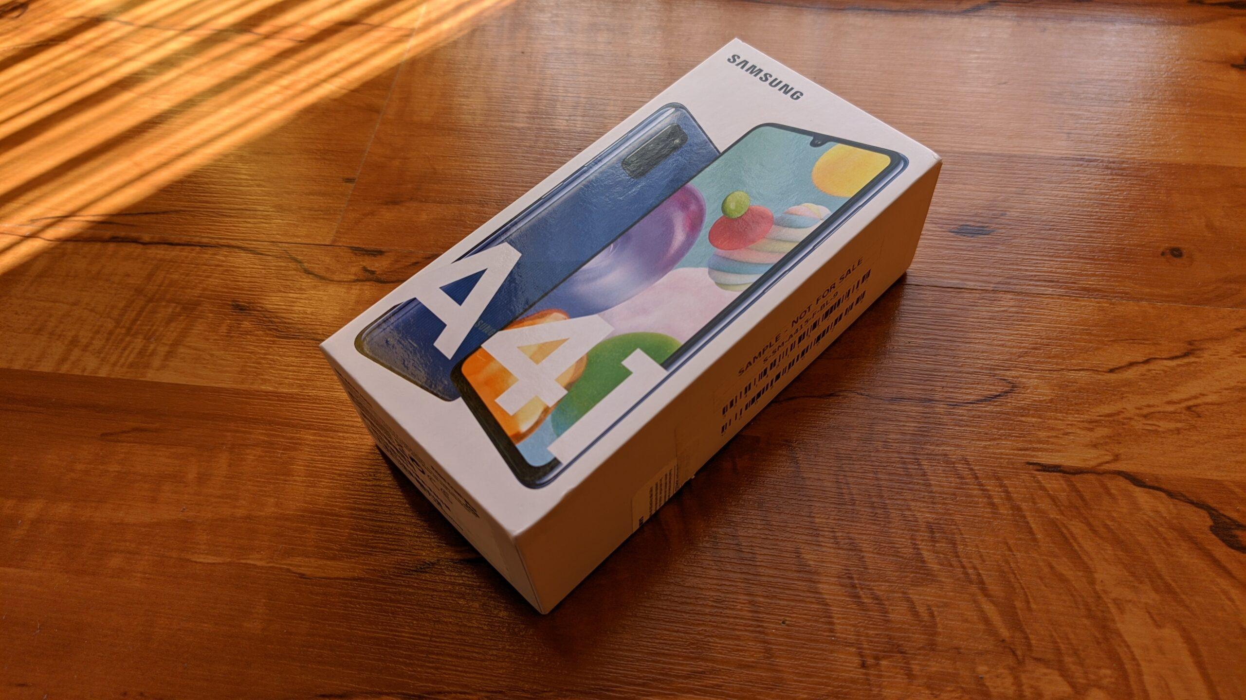 Galaxy A41 box3