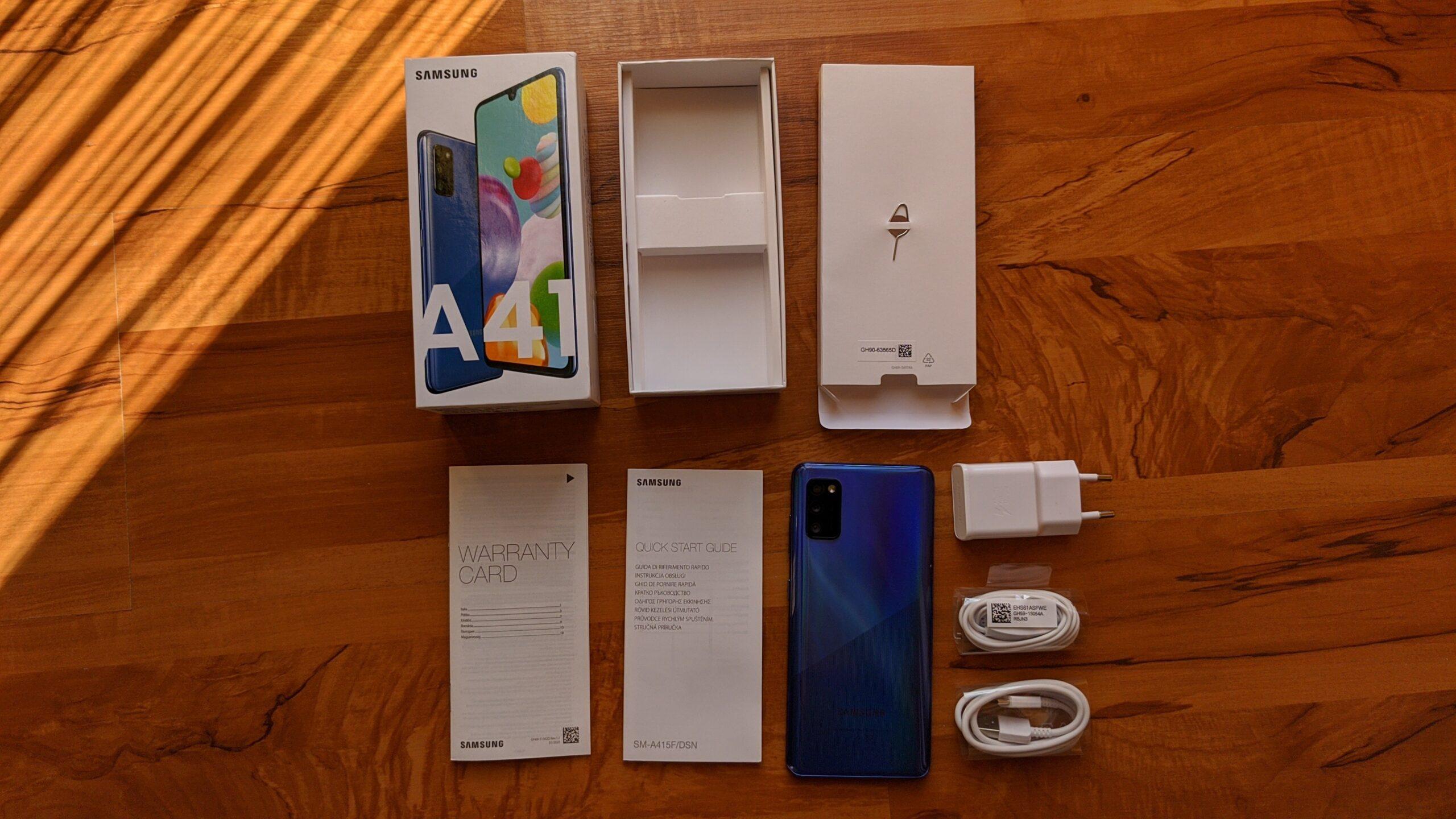 Galaxy A41 box4