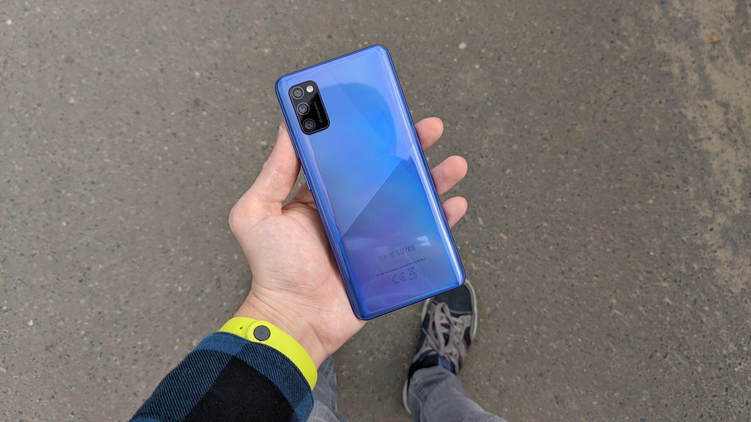 Galaxy A41 design0