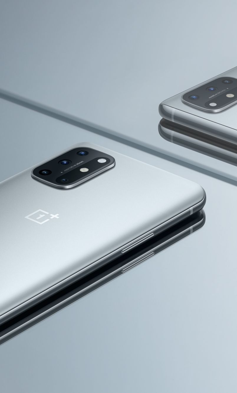 OnePlus 8T Lunar Silver official